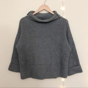 Lord & Taylor Chunky Knit Cowl Neck Sweater Sz XS